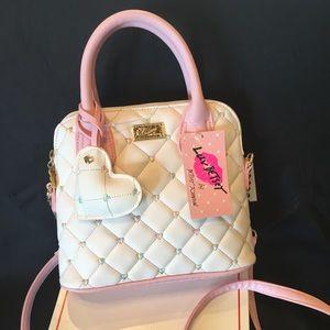 Betsey Johnson NWT Spring Pink Satchel